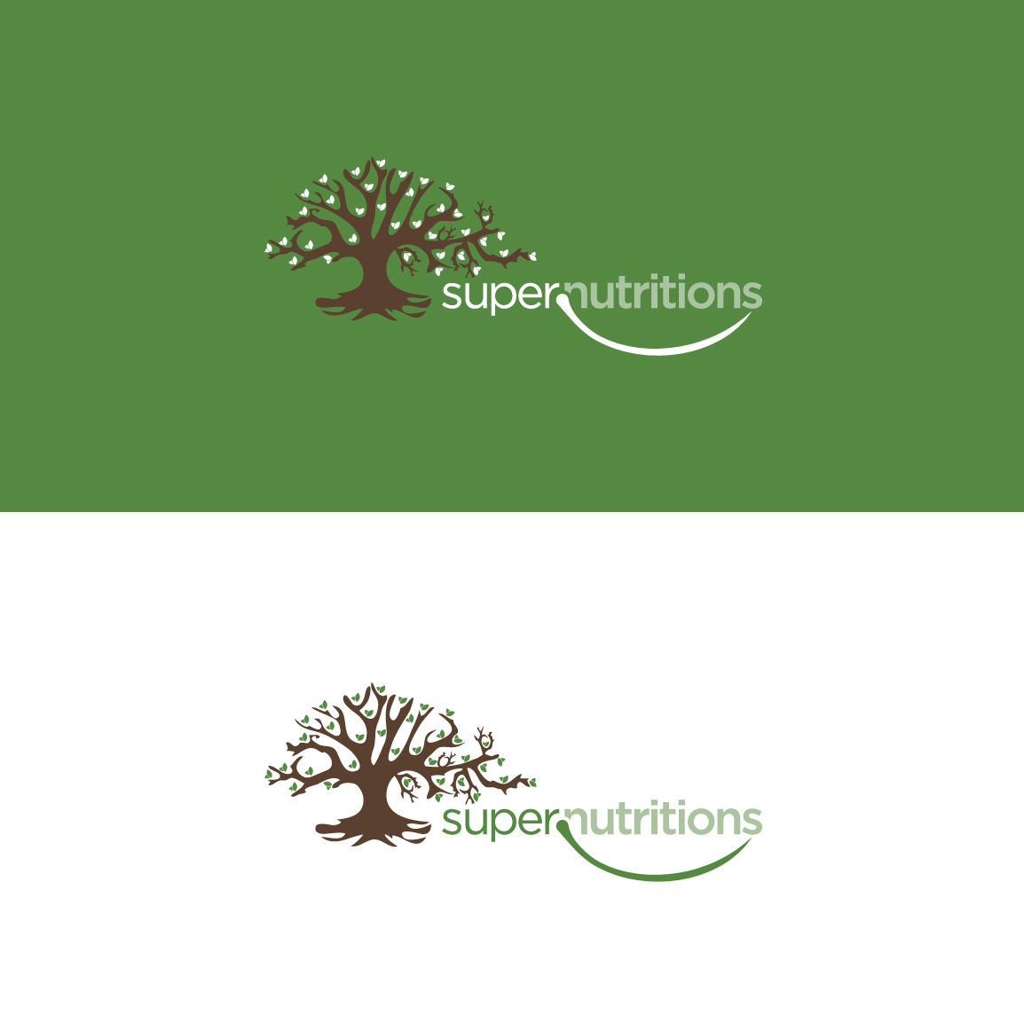 Natural Food online Store logo by Fanol Ademi