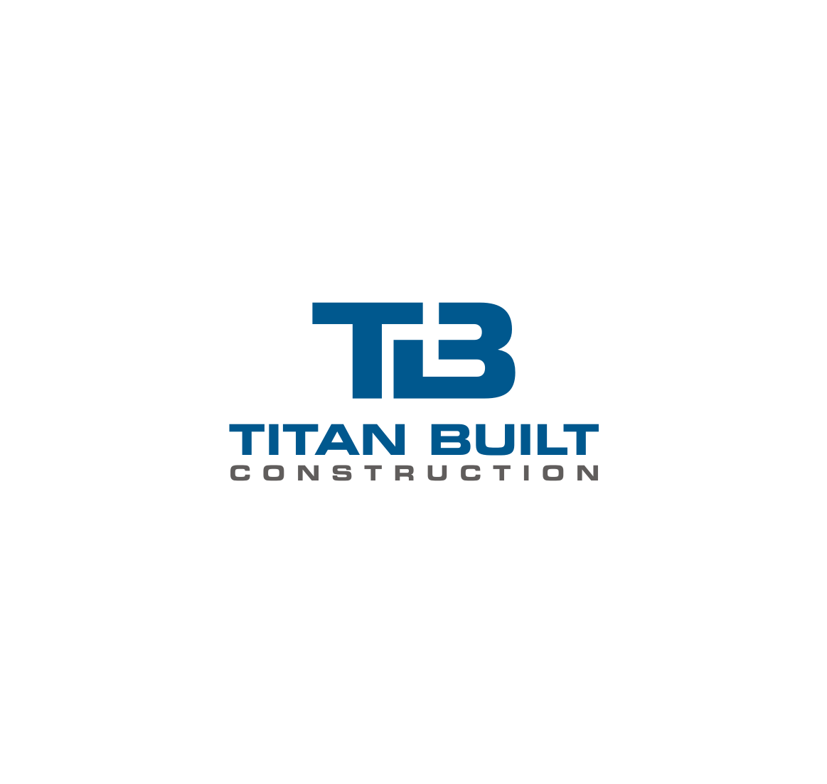 Masculine Serious Construction Company Logo Design For Titan Built