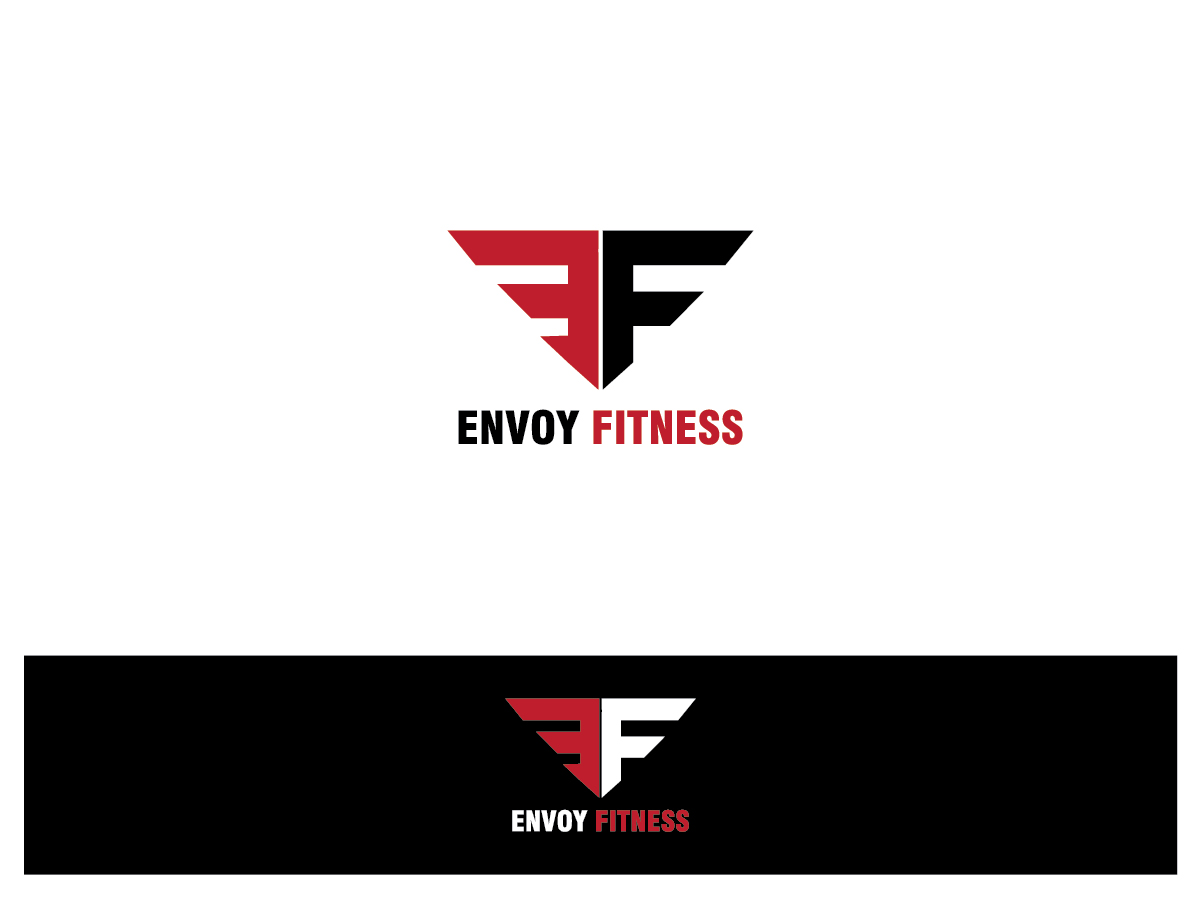 Logo Design by Remith for Envoy Fitness Logo Design - Design #7283924 The Letter C In Black