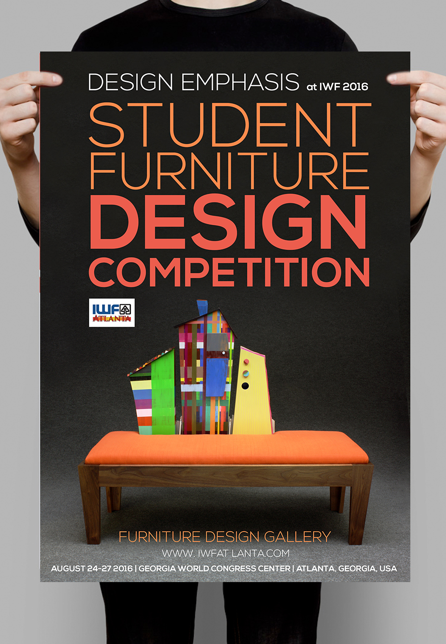 Modern, Bold, Woodworking Poster Design For A Company In United States |  Design 7379620