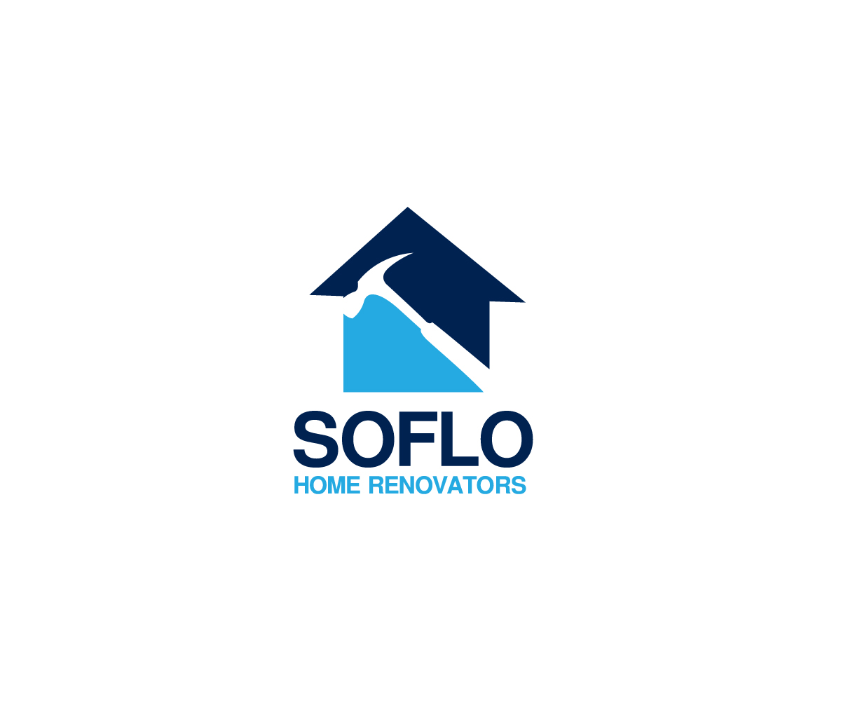 Atrevido serio logo design for soflo home renovators by for Logo creation wizard