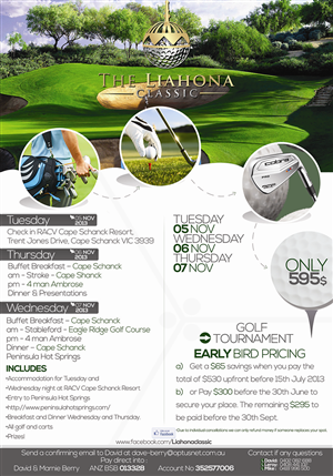 13 personable graphic designs golf course graphic design project