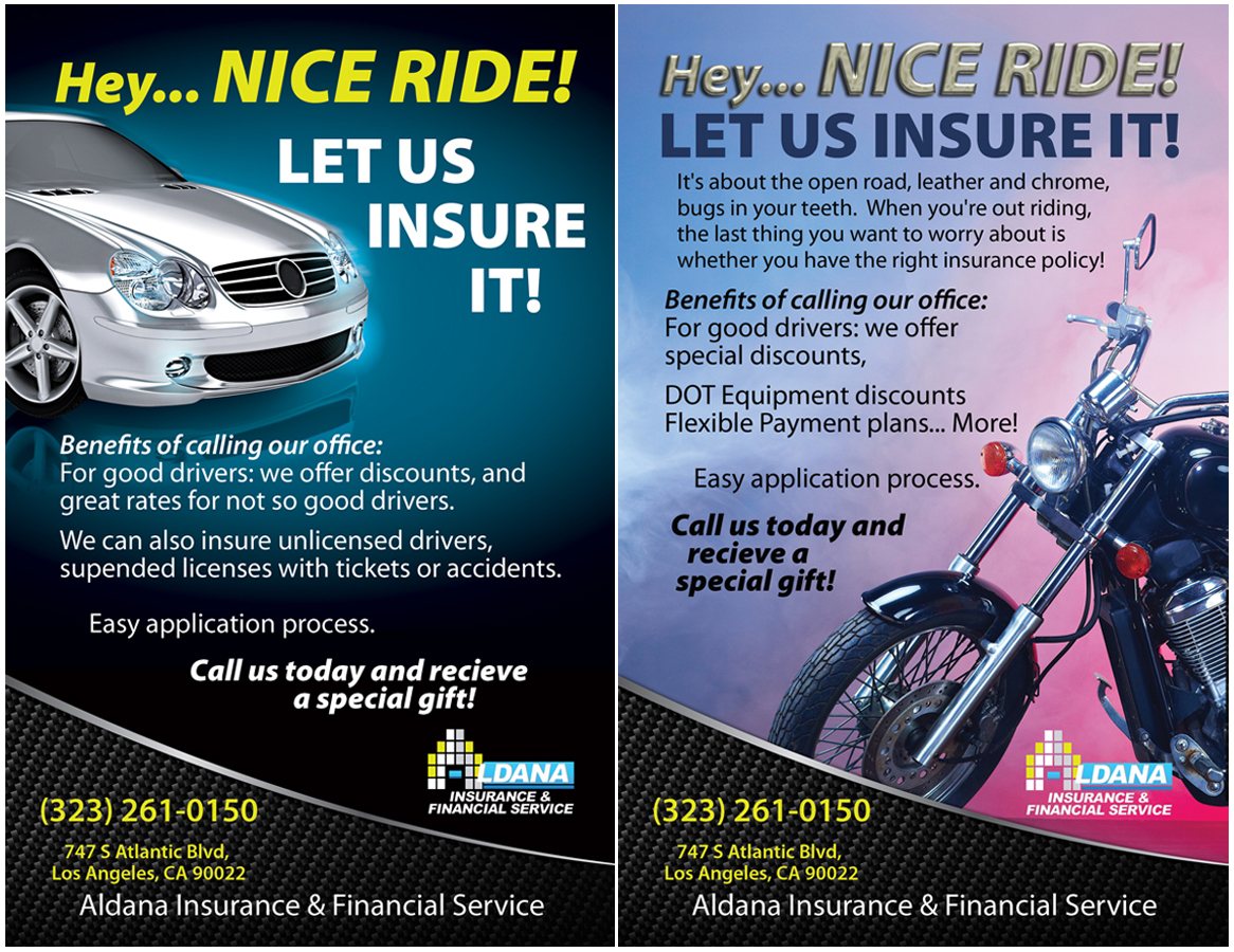 Bold, Modern, Insurance Flyer Design for a Company by Anderson ...