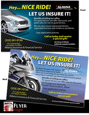 15 Bold Modern Insurance Flyer Designs for a Insurance business in ...