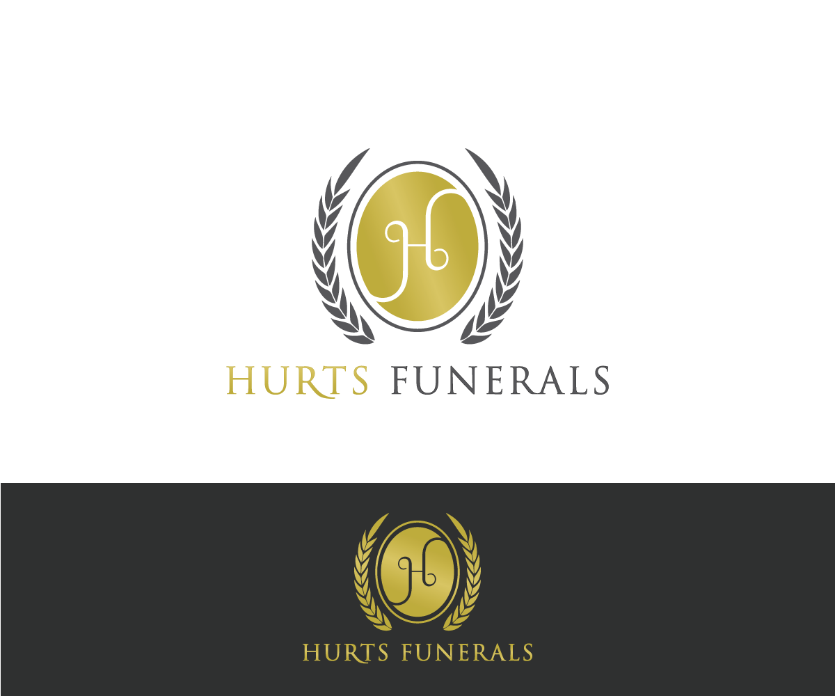 Elegant, Playful, Business Logo Design for HURTSFUNERALS by Mario ...