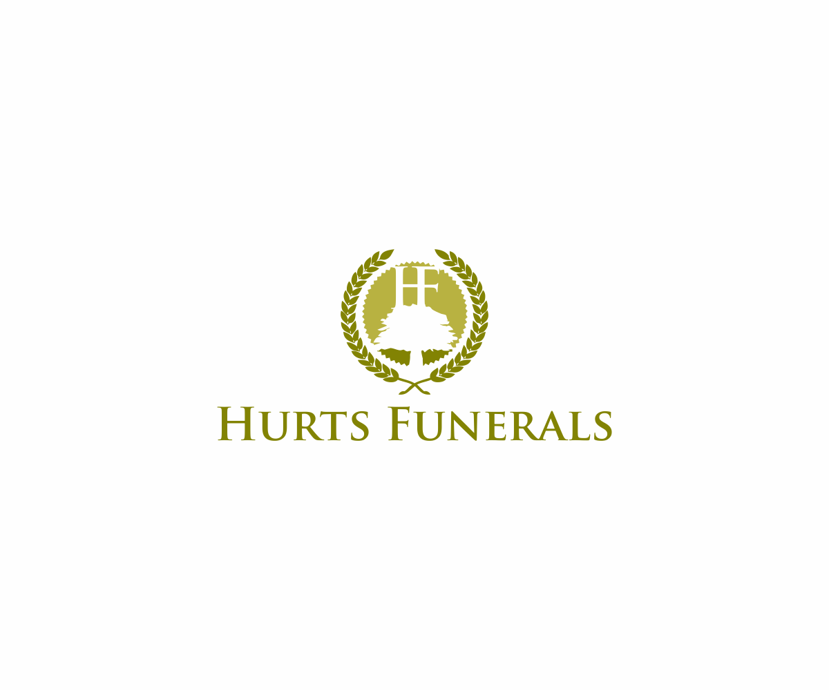 logo design by dvynaart for hurts funeral home design 7314038