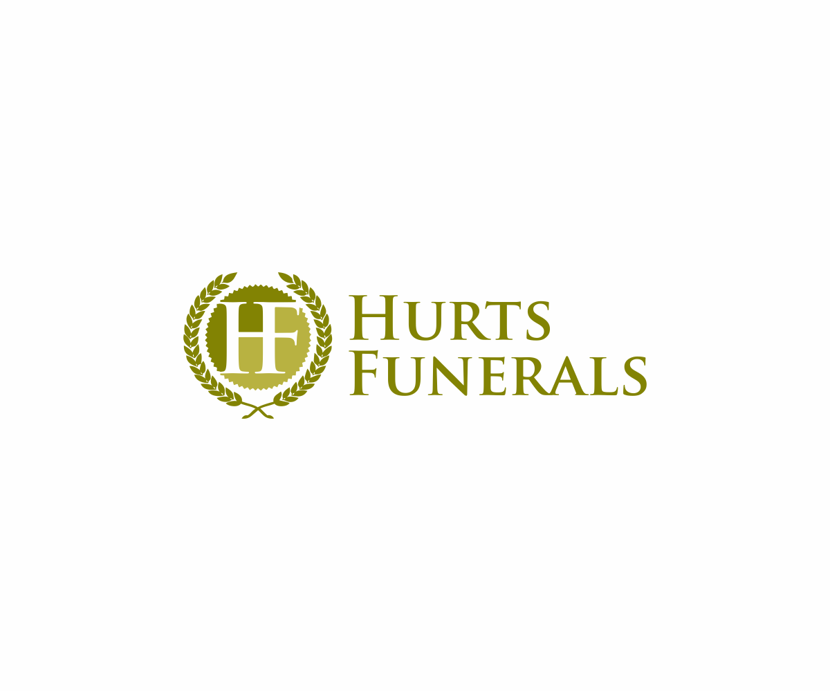 Elegant, Playful Logo Design For Hurt\u0027\u0027s Funeral Home By DvynaArt