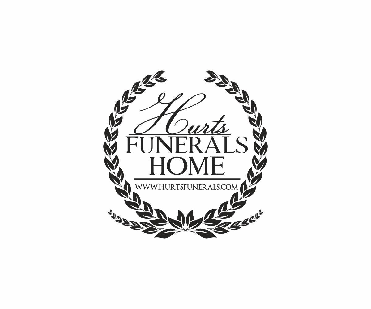 102 elegant playful funeral home logo designs for hurtsfunerals a