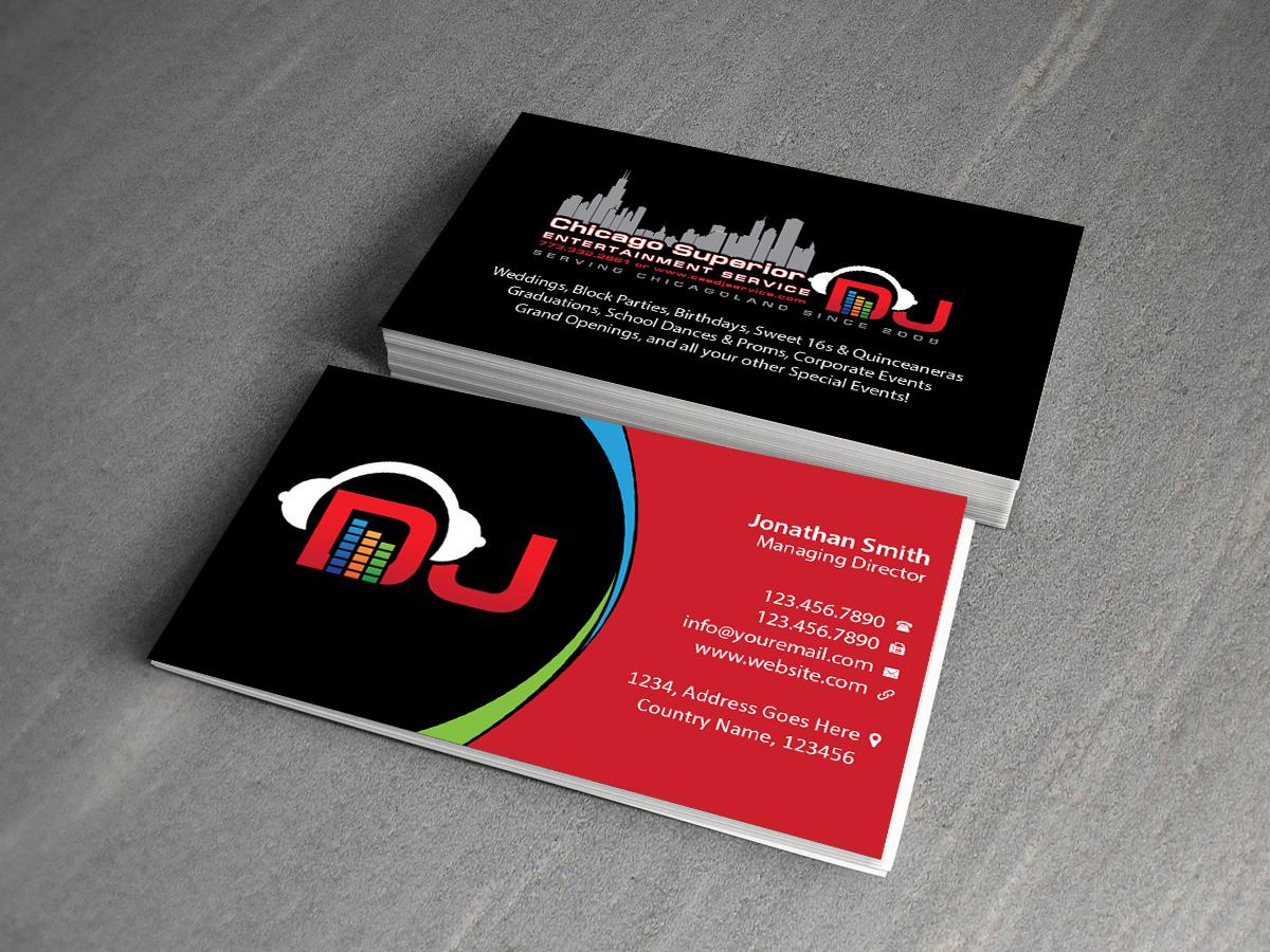modern elegant business card design for michael jannusch by