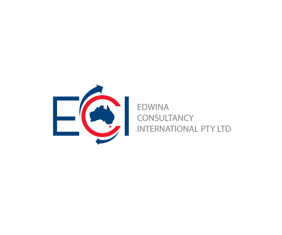Serious modern education logo design for edwina for Design consultancy internship