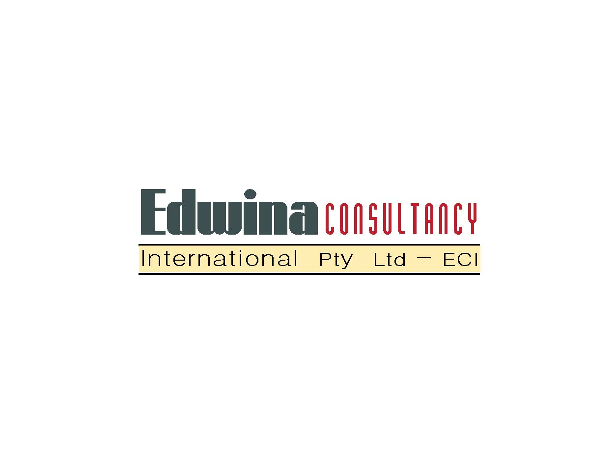 Serio moderno education dise o de logo for edwina for Decor 18 international pty ltd