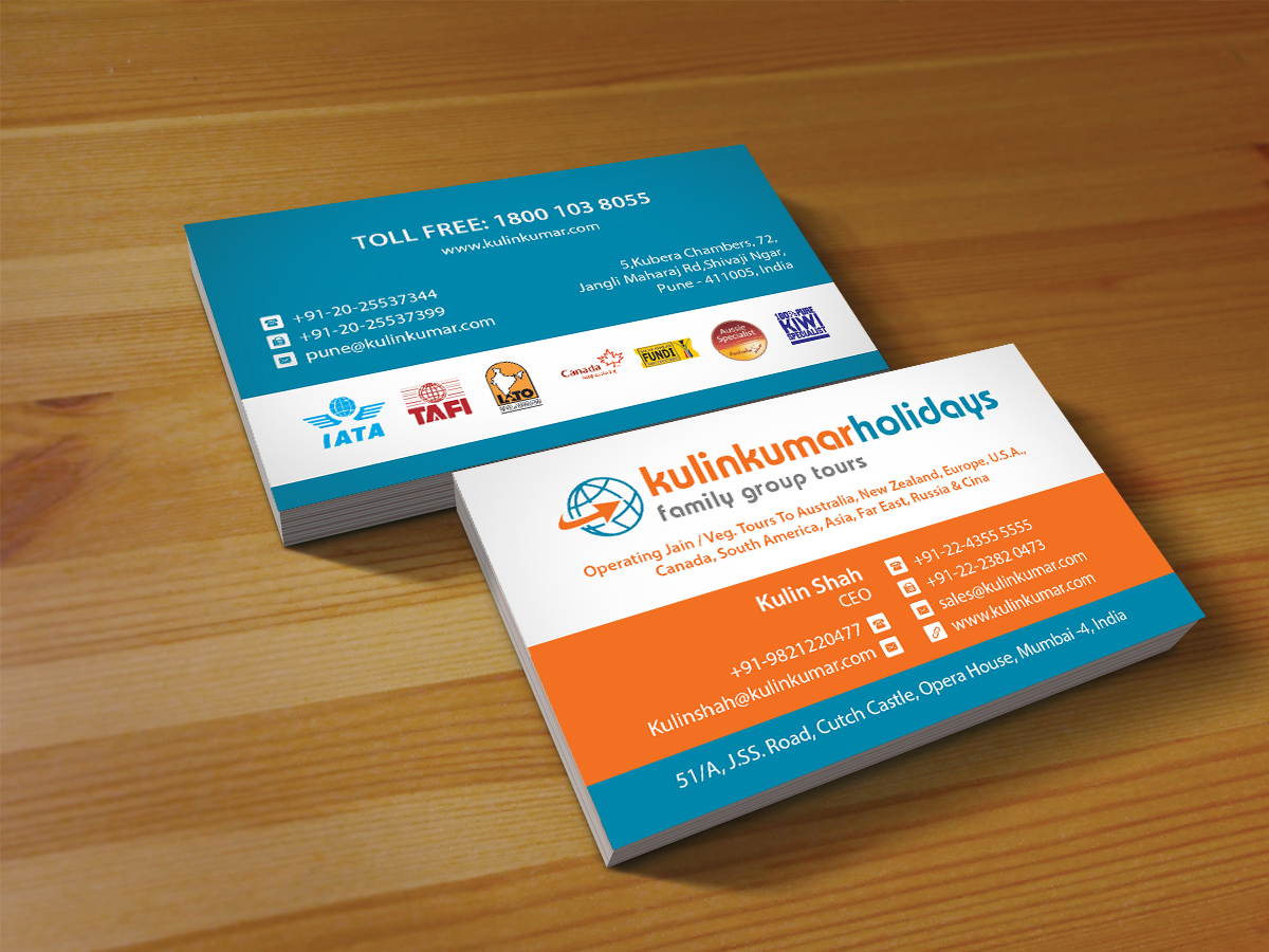 Playful modern travel agent business card design for a company by business card design by creations box 2015 for this project design 7374464 reheart Images