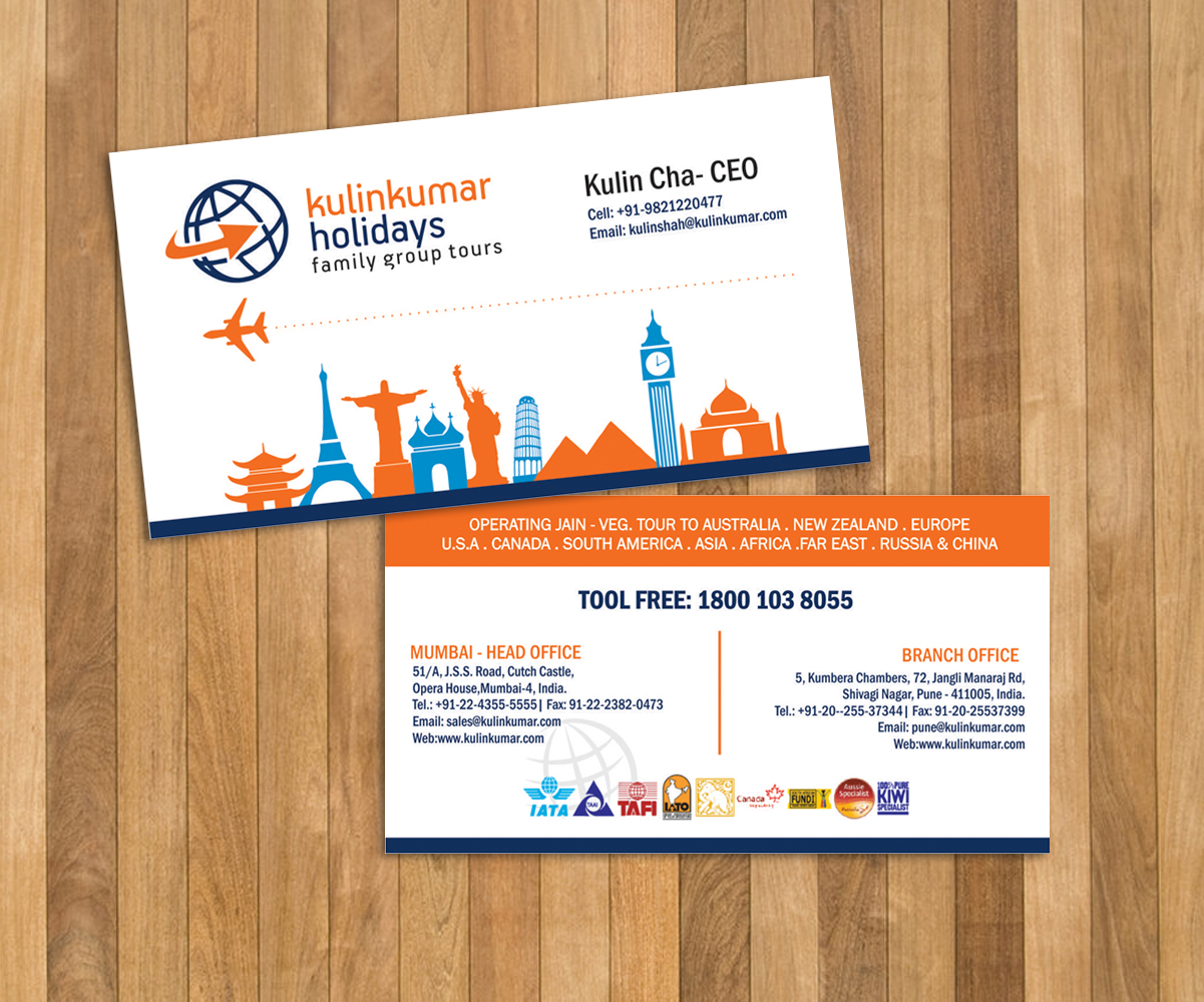 Playful modern travel agent business card design for a company by business card design by lucims for this project design 7447759 colourmoves