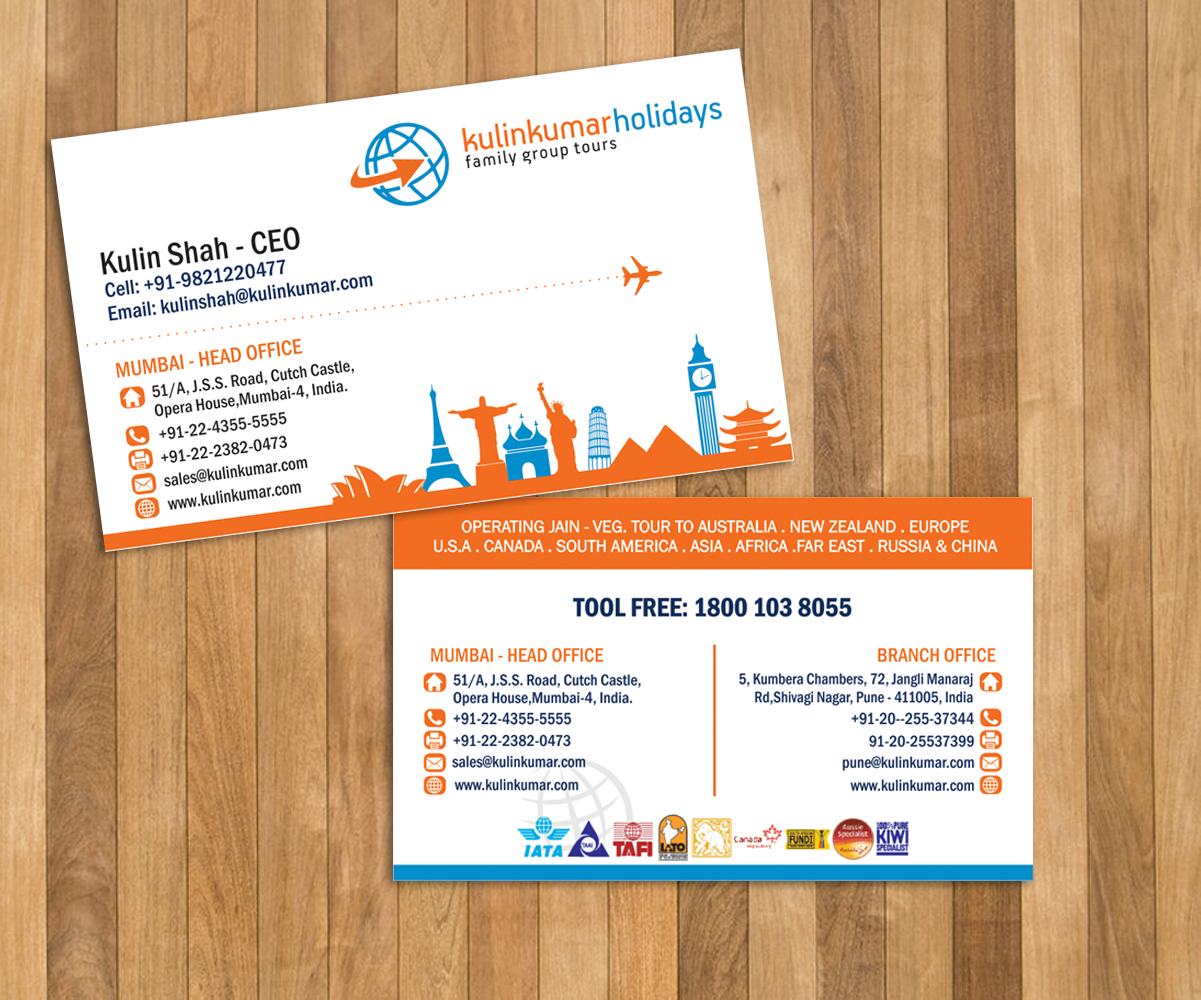 Playful modern travel agent business card design for a company by business card design by lucims for this project design 7514486 colourmoves Image collections