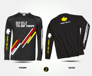 t shirt design design 7372328 submitted to point me by racing long - Team T Shirt Design Ideas