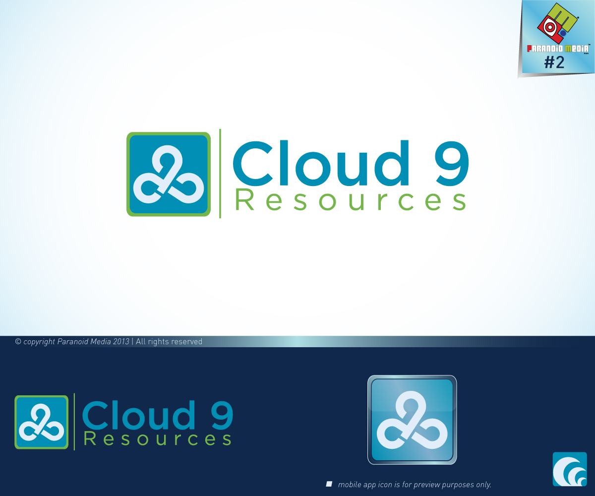 18 serious modern logo designs for none provided a for Cloud 9 architecture