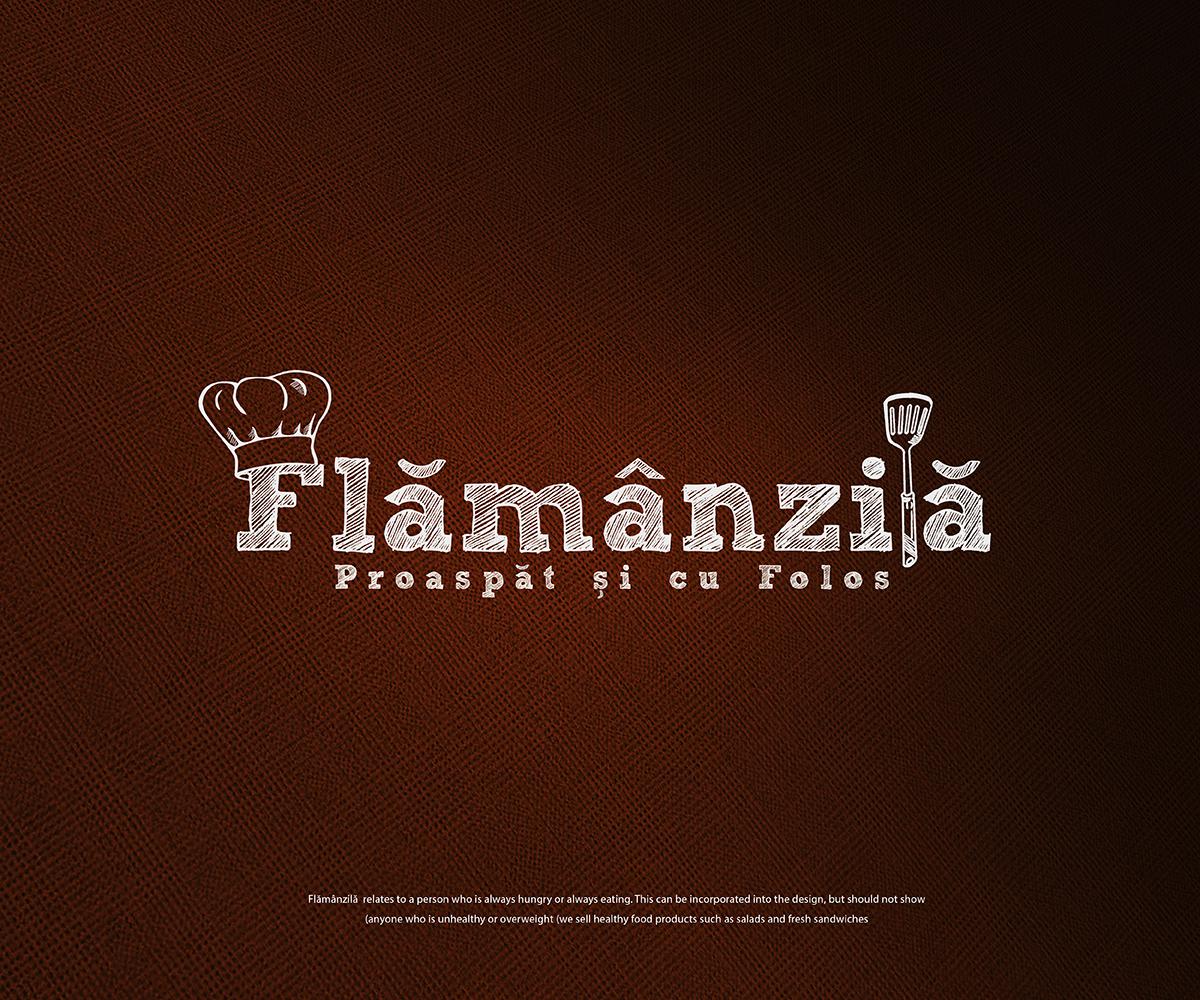Flamanzia Logo Design by  pixelgrapix