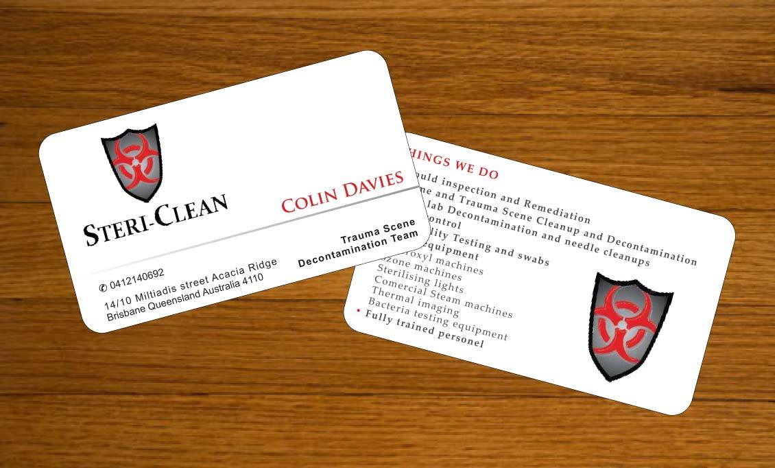 Professional, Bold, Business Business Card Design for Allgon Pest ...