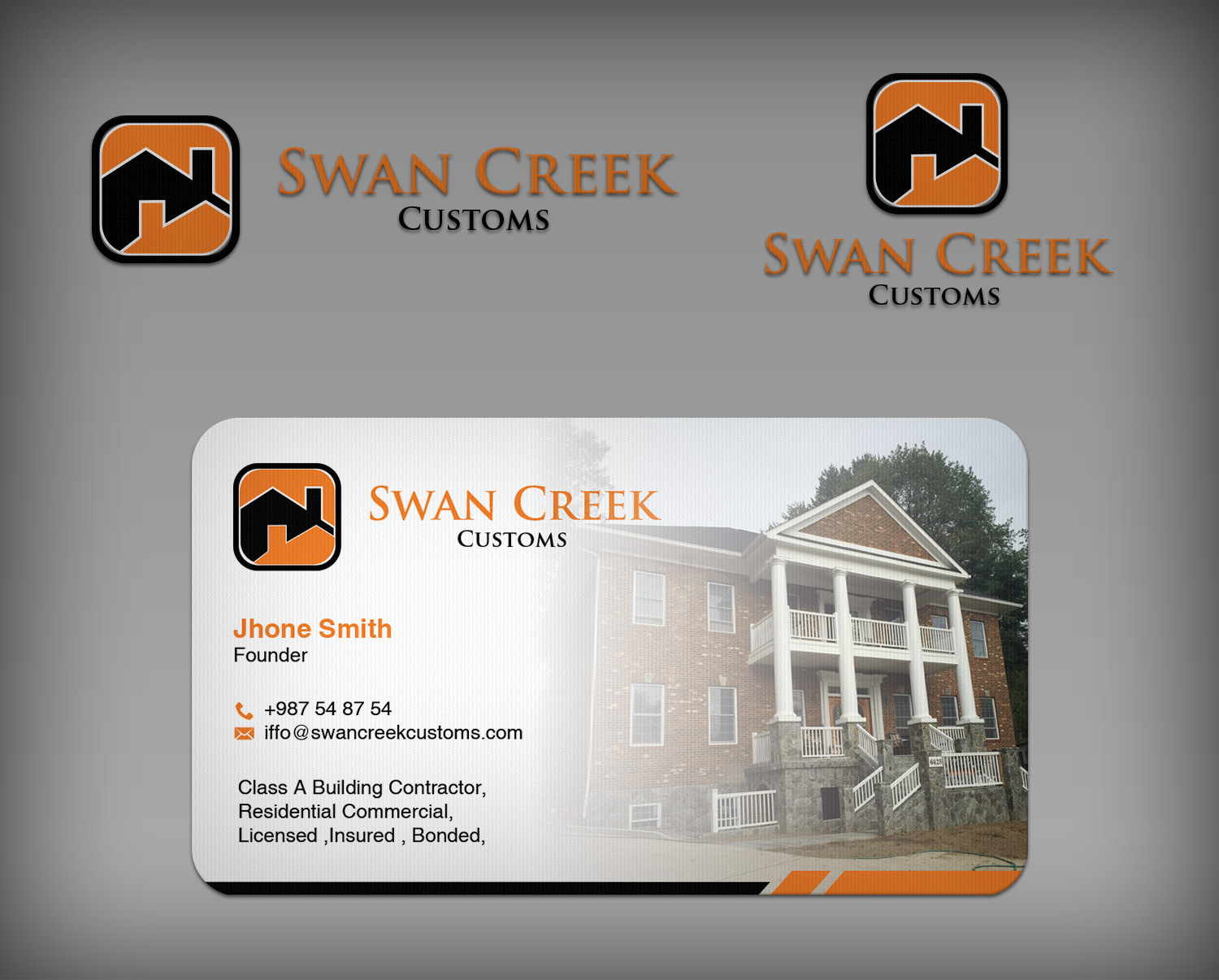 Residential Construction Business Card