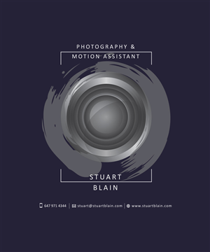 Logo Design by AGV - Up and Coming Photographer / Motion shooter Nee...