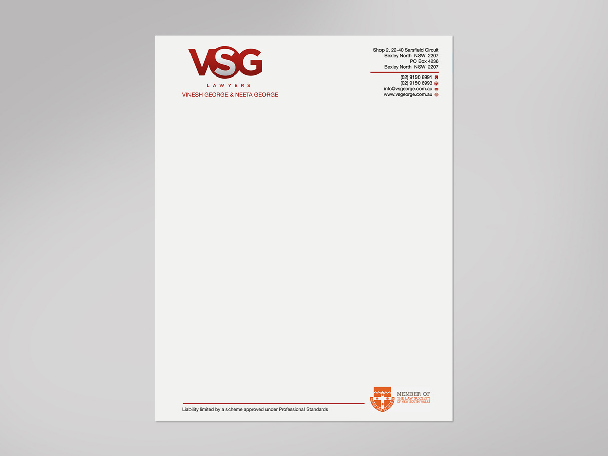 upmarket elegant legal letterhead design for a company by gtools