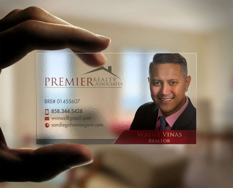 198 Serious Business Card Designs | Real Estate Agent Business Card ...