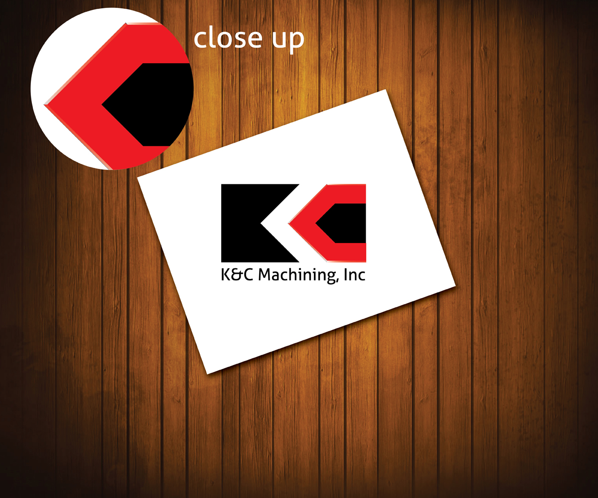 Modern professional logo design for k c machining by for Alexander manufacturing company