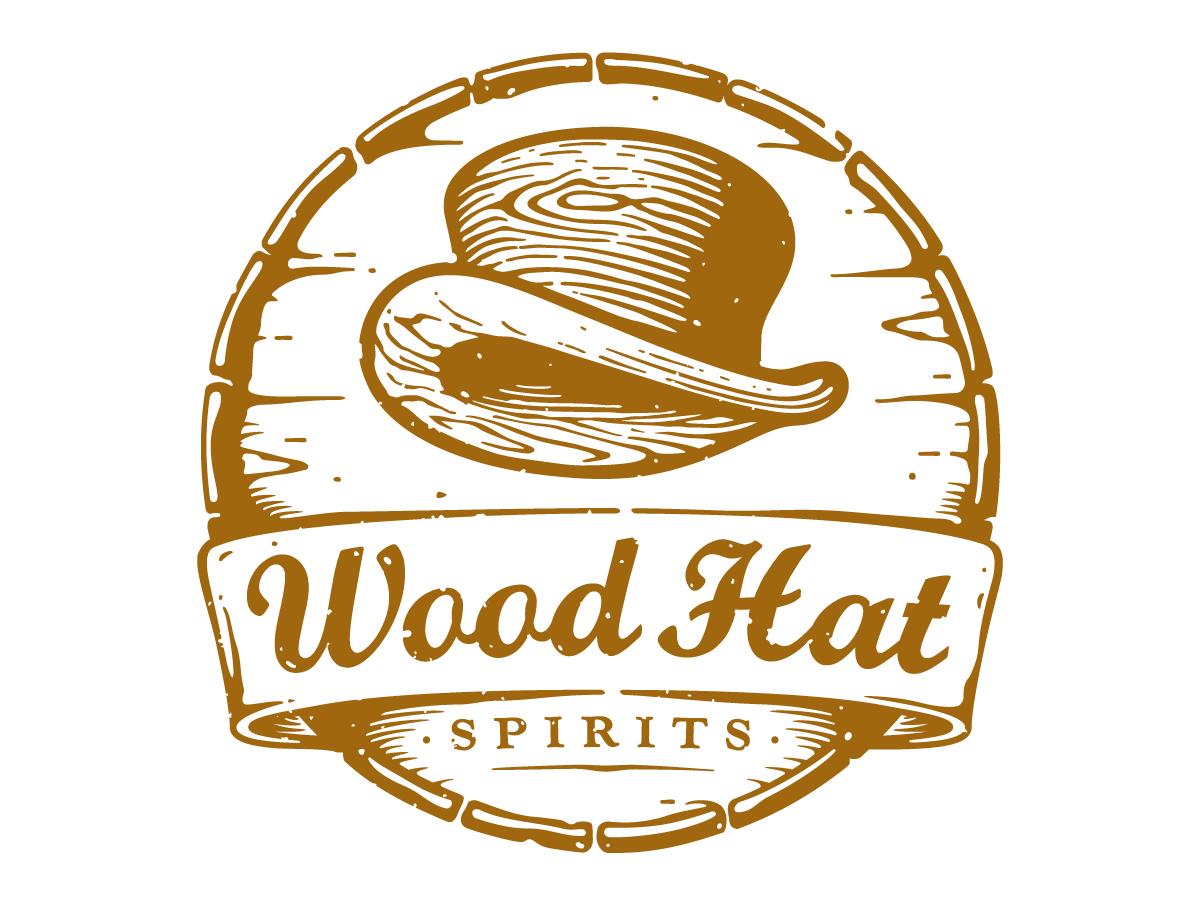 Logo Design By Dlt For Wood Hat Spirits