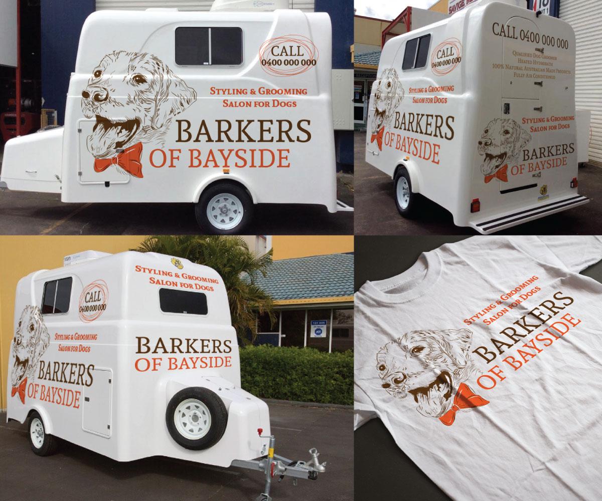 Upmarket Elegant Graphic Design For Barkers Of Bayside By