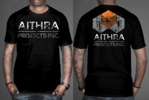 to eye catching t shirt design for construction company closed