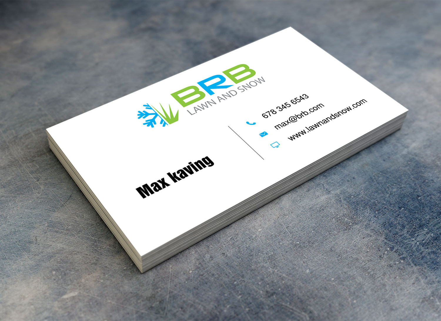 Serious, Professional Business Card Design for Nick Stueben by Lanka ...