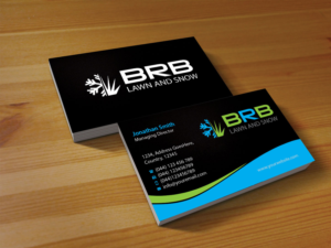 Snow Removal Business Card Arts Arts