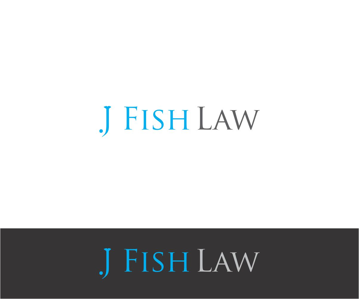 Elegant spielerisch logo design for leah fish by j mahesh for Fish law firm