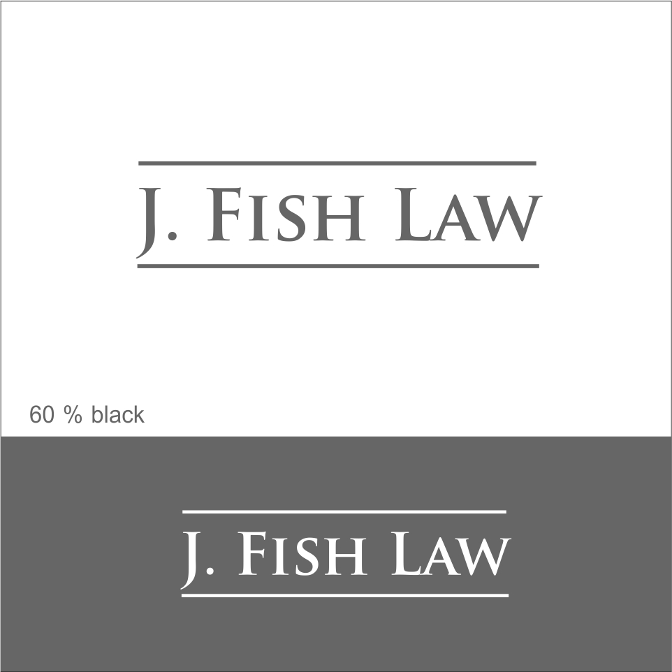 107 elegant playful logo designs for j fish law or for Fish law firm