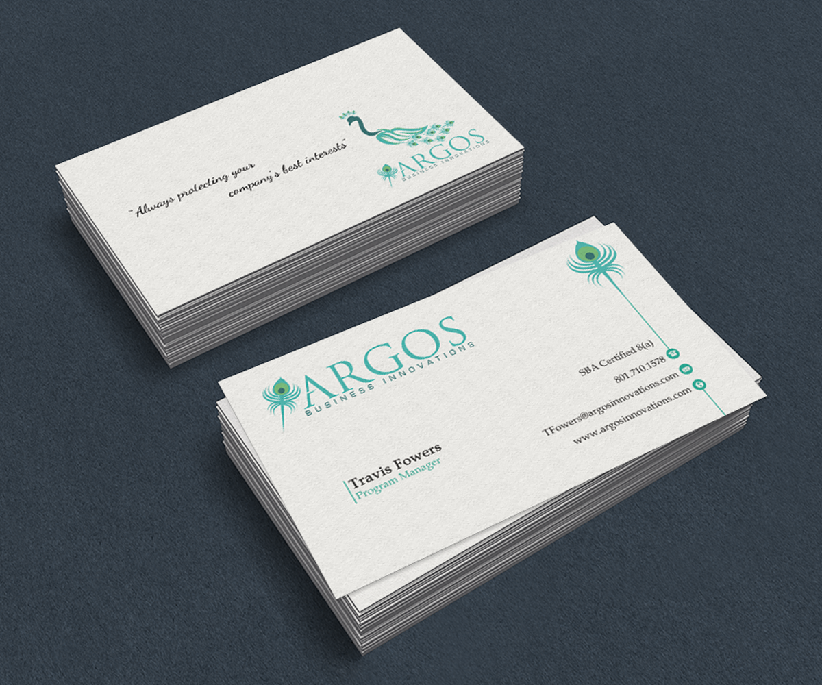 Serious professional management consulting business card design business card design by premnice for this project design 7361919 colourmoves
