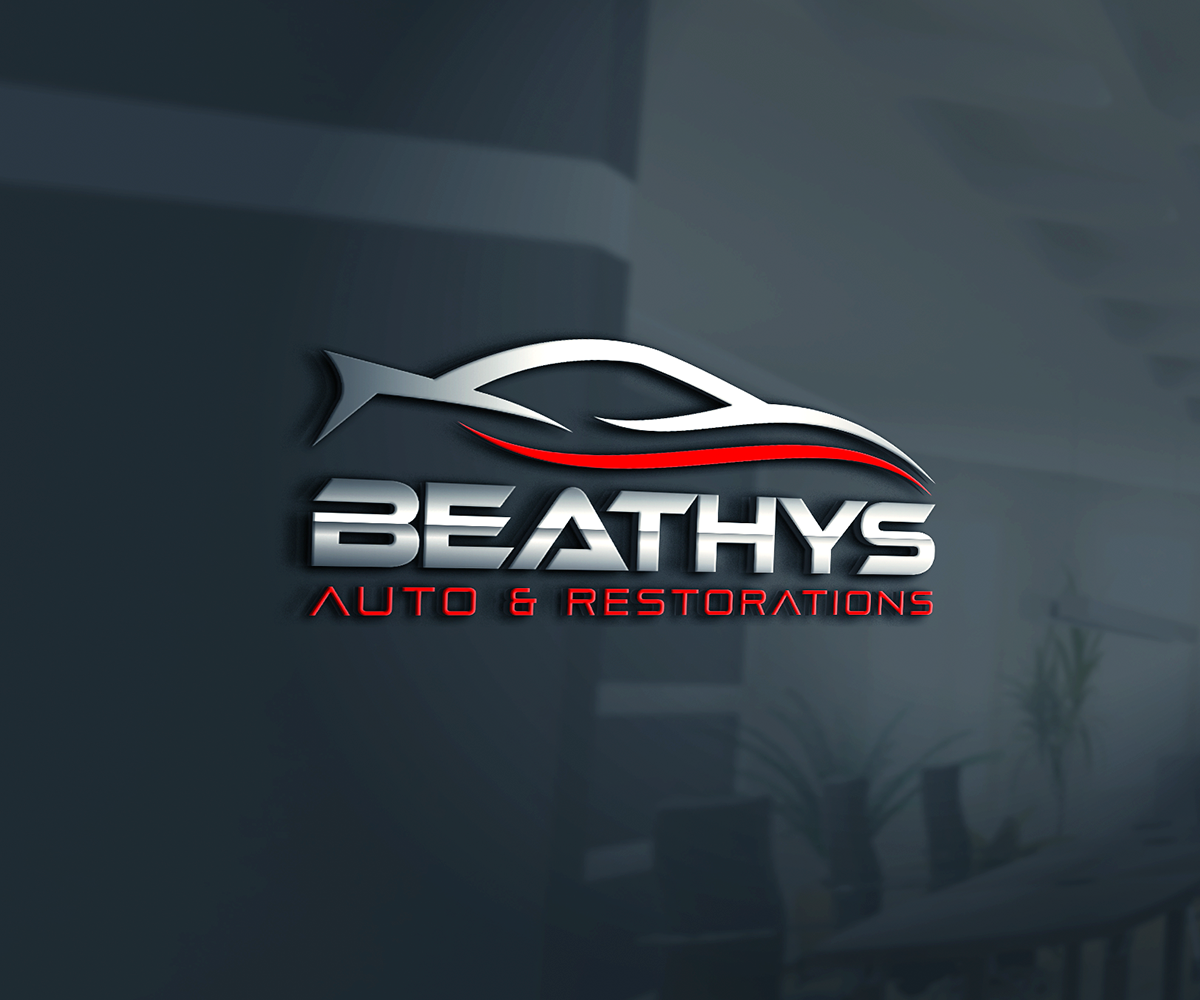 Upmarket Playful Car Repair Logo Design For Beathys Auto