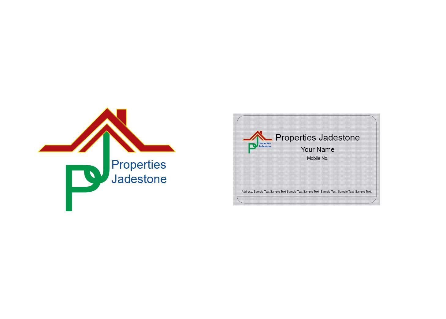 Modern Professional Real Estate Logo Design For Jadestone
