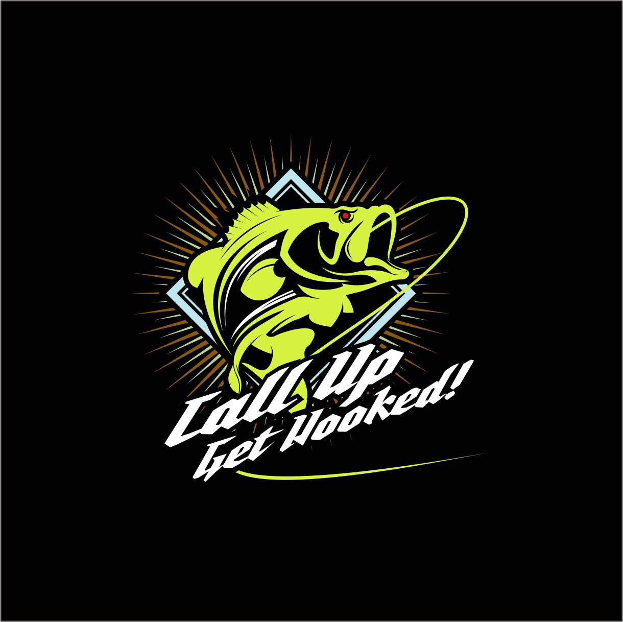 Bold serious t shirt design by shadowcaster studios for Bass fishing tournament shirts