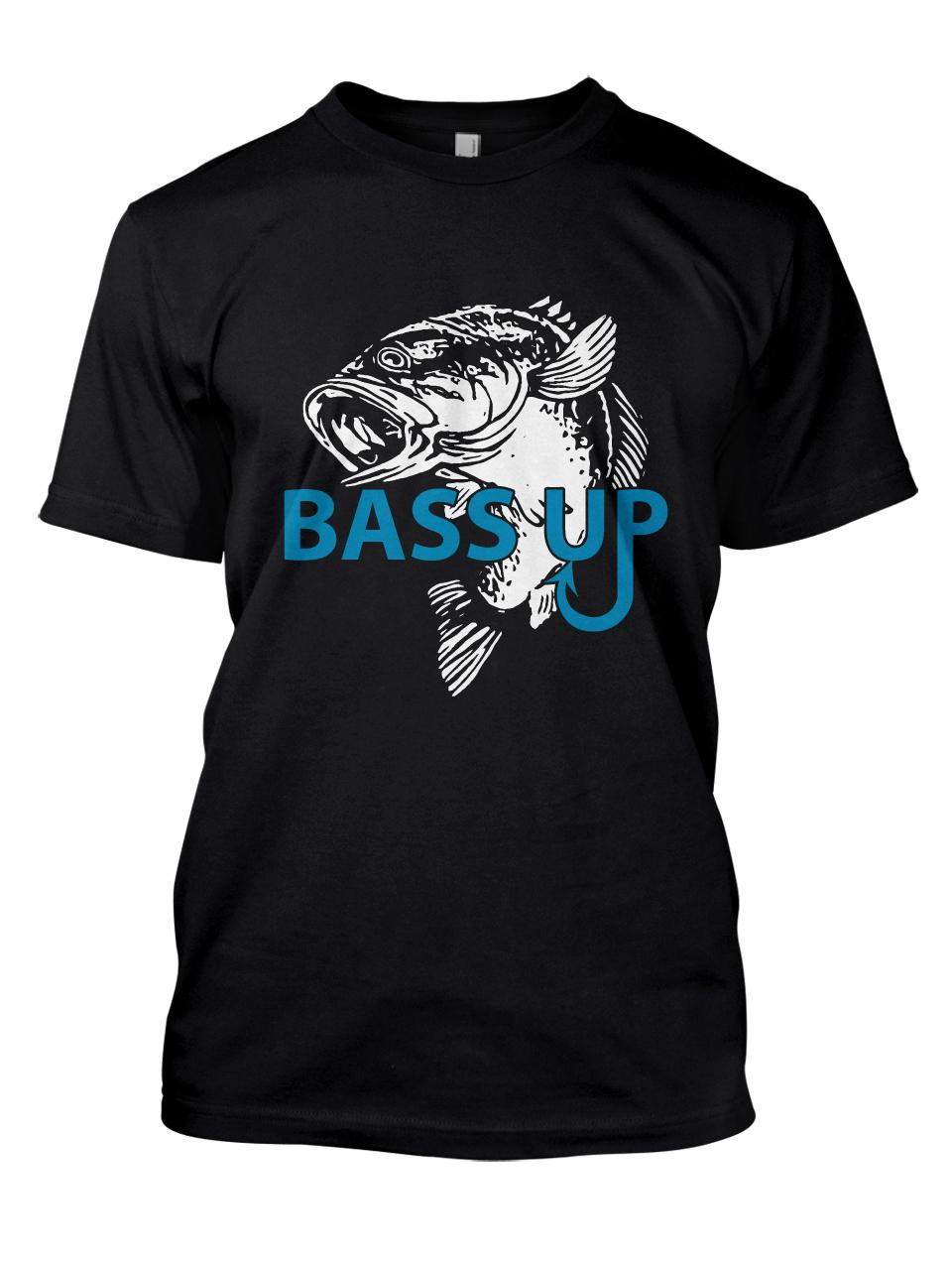 Bold serious t shirt design by adrian design 7455082 for Bass fishing tournament shirts