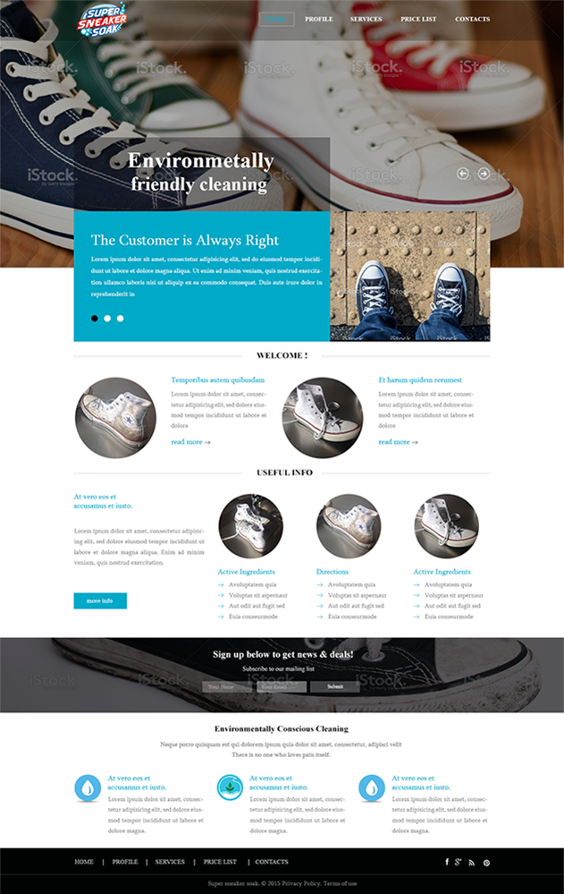 Elegant, Playful, Business Web Design for a Company by