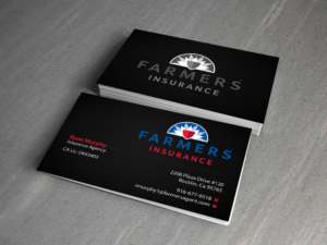 81 masculine business card designs insurance business card design business card design by creations box 2015 for this project design 7406527 colourmoves