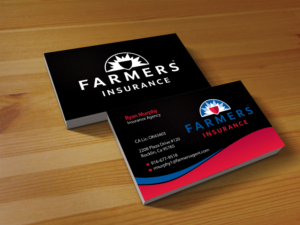 Farmers Insurance Business Card Template | Oxynux.Org