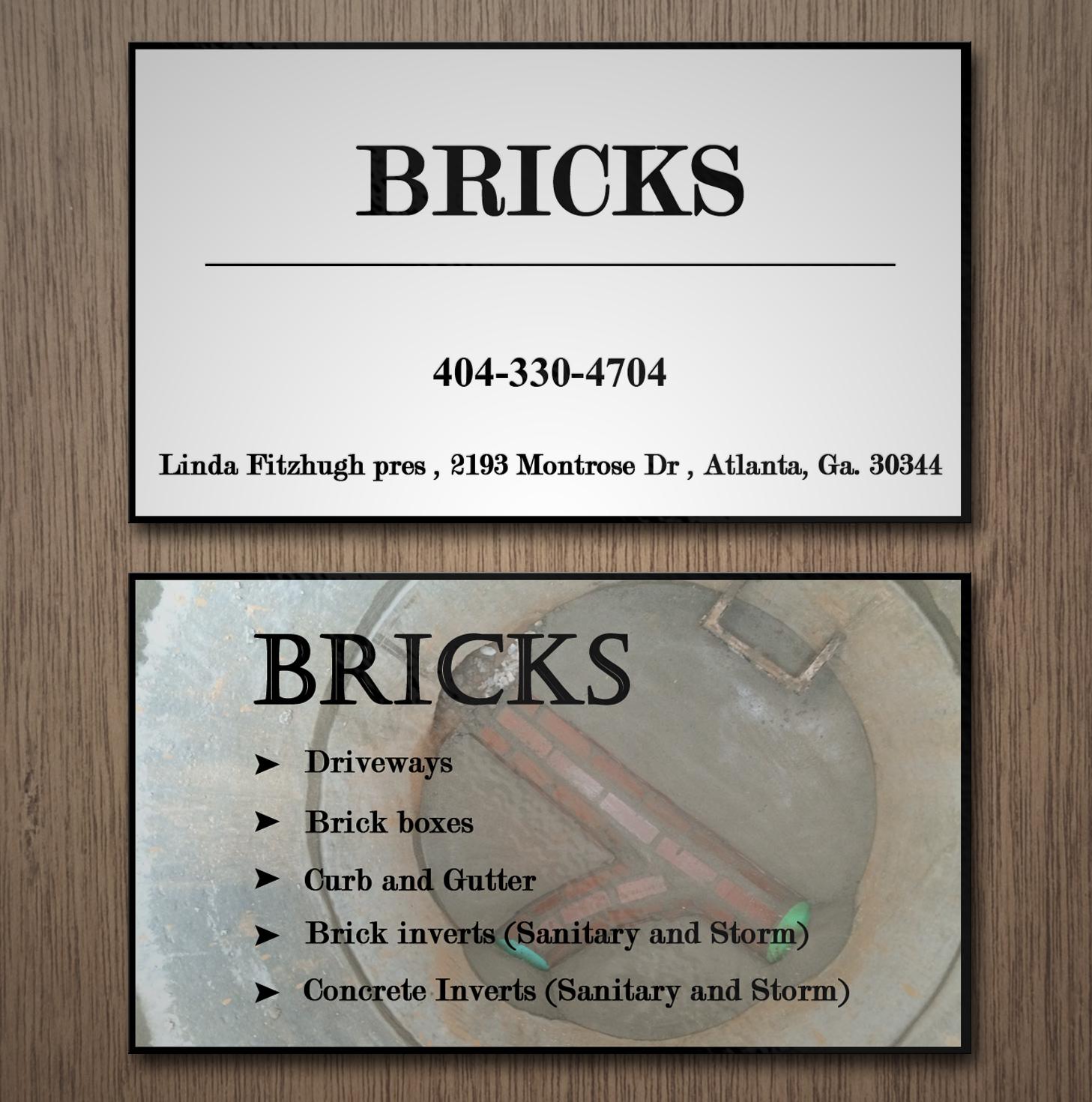 feminine playful business card design for linda fitzhugh by