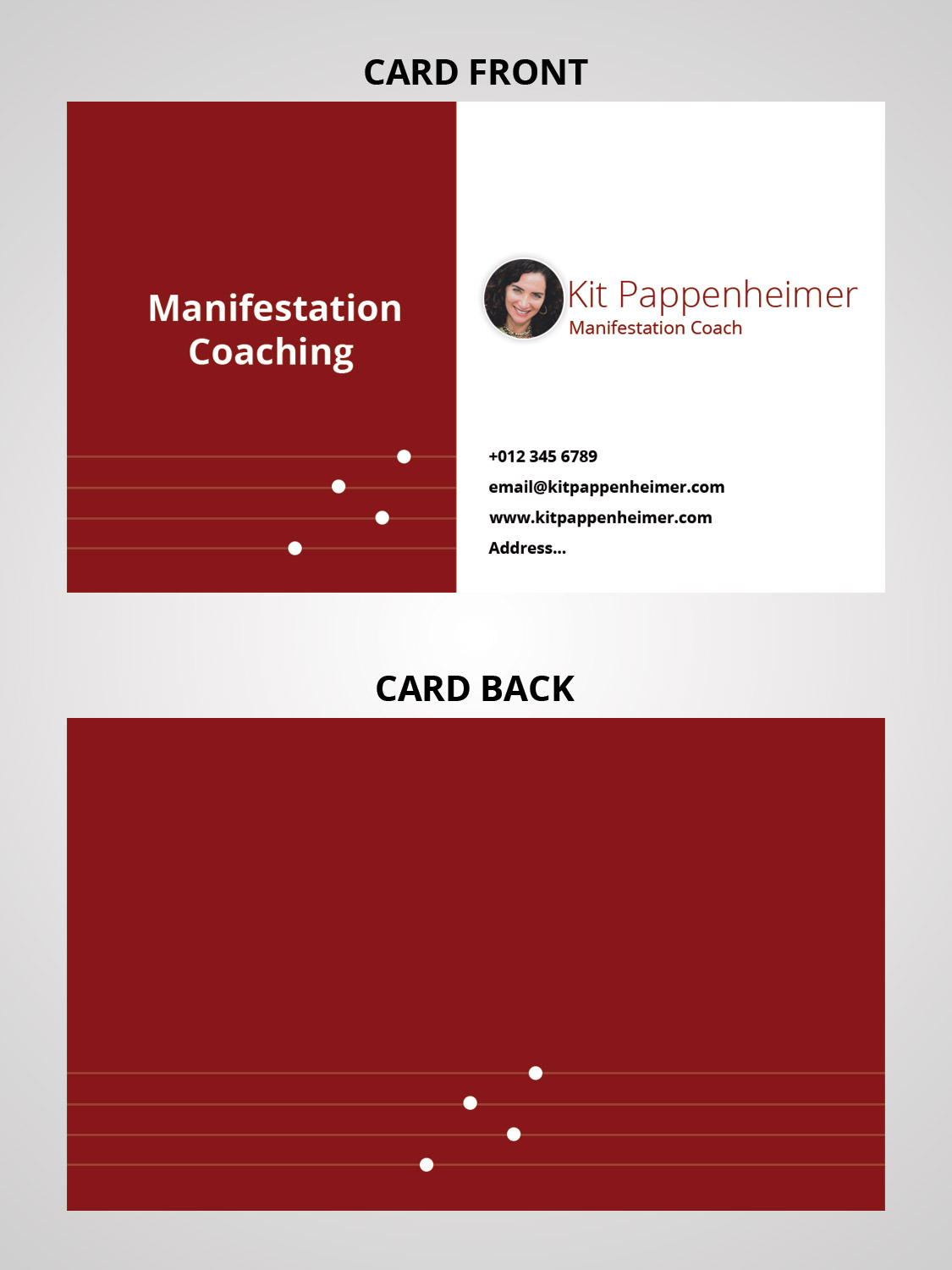 Elegant, Playful, Business Business Card Design for a Company by AD ...