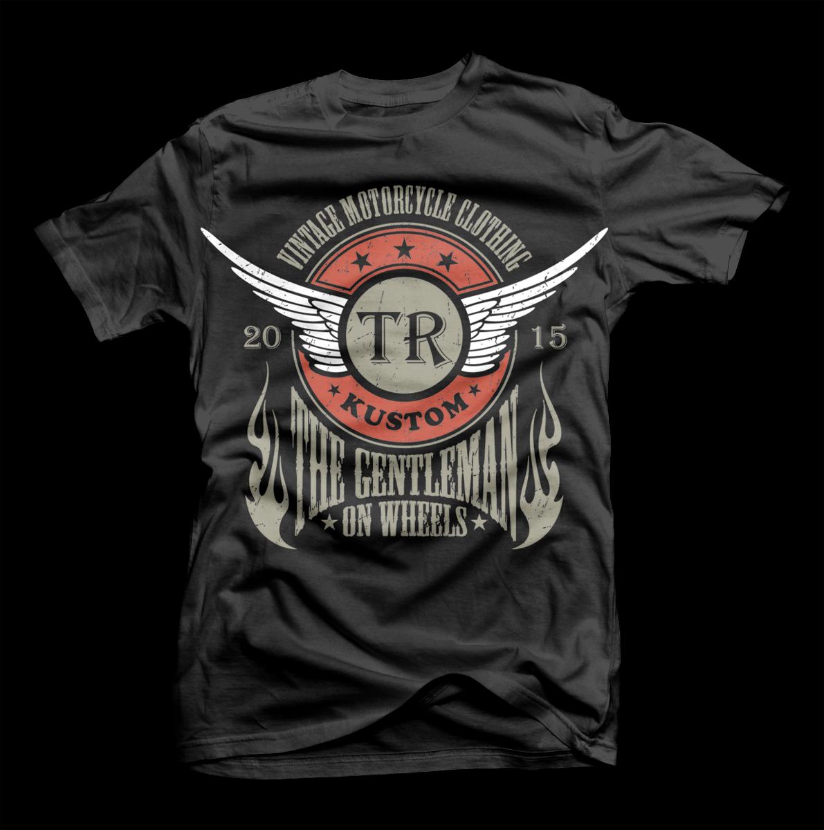 Shirt design vintage - T Shirt Design By D Mono For Vintage T Shirt Design Design