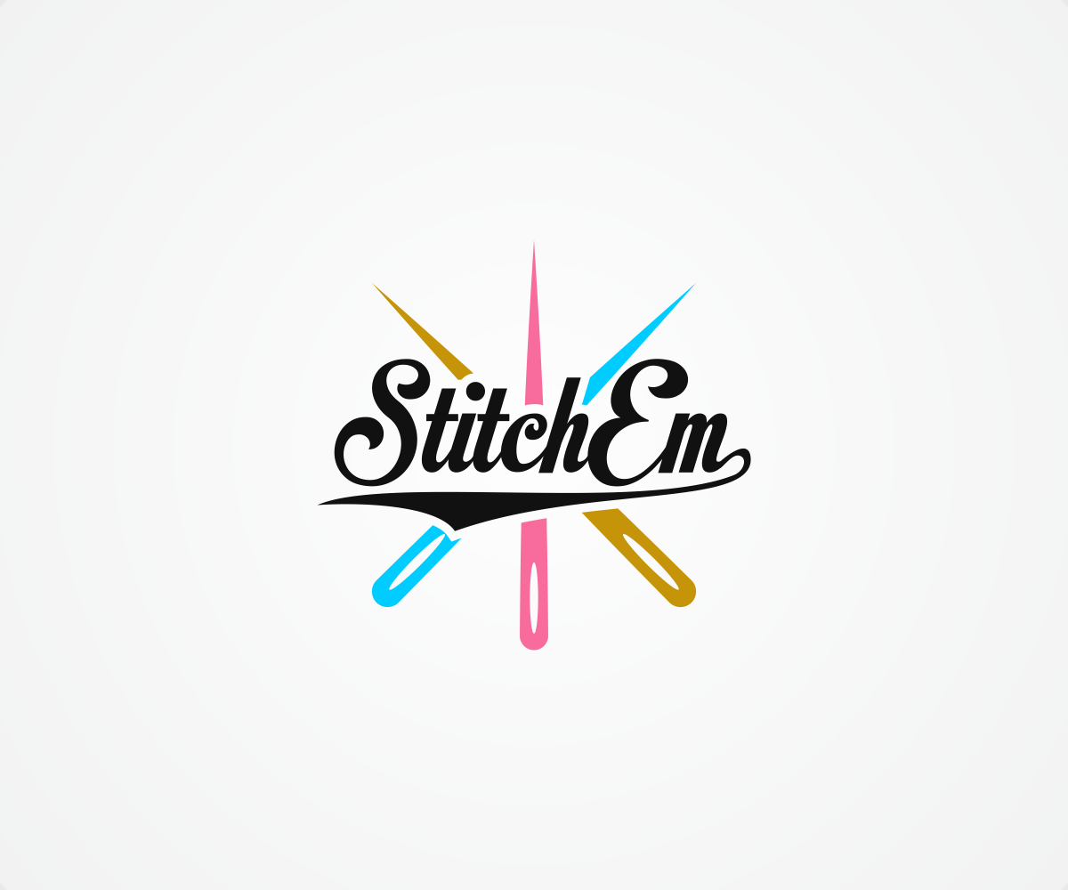 94 colorful playful embroidery logo designs for stitch em for California design company