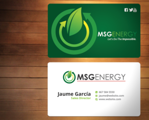 Solar energy business card designs solar energy business card design by creativmindsja reheart Image collections