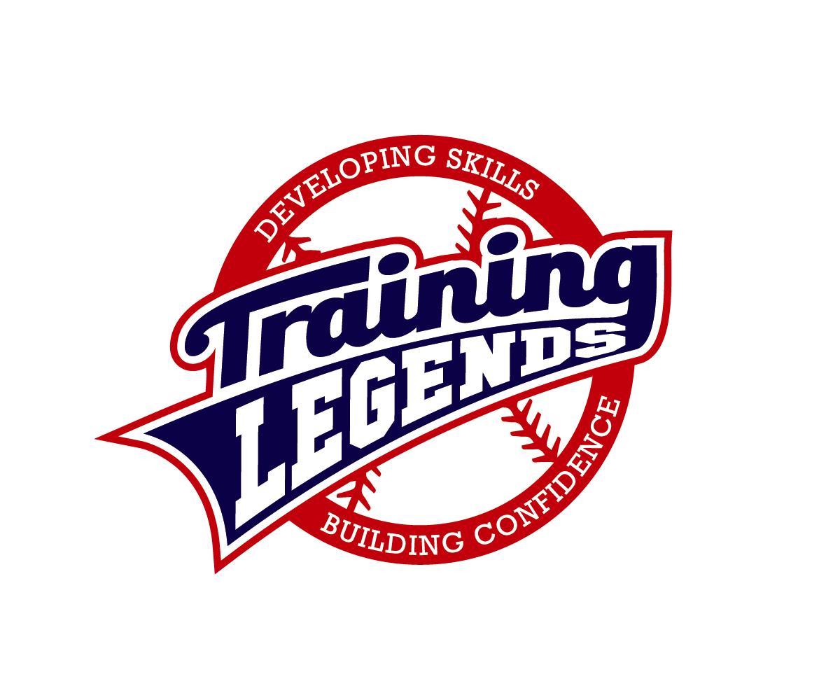Masculine Bold Logo Design For Training Legends By