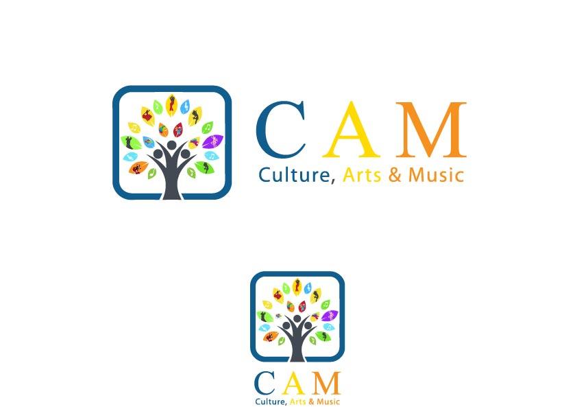 professional bold non profit logo design for culture