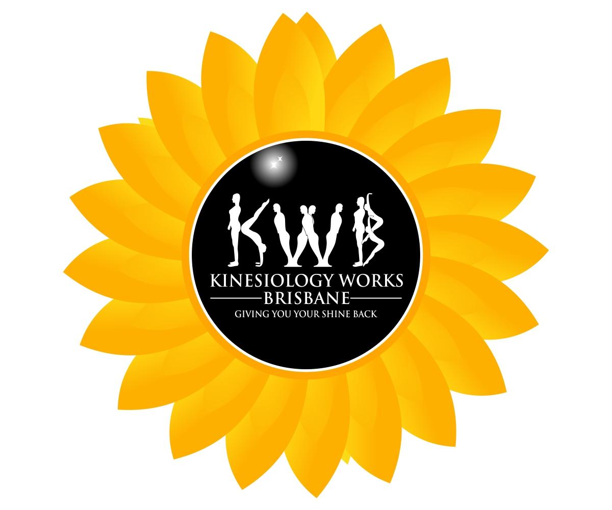 Sunflower Logo Design by Sarah for an Alternative Medicine Business